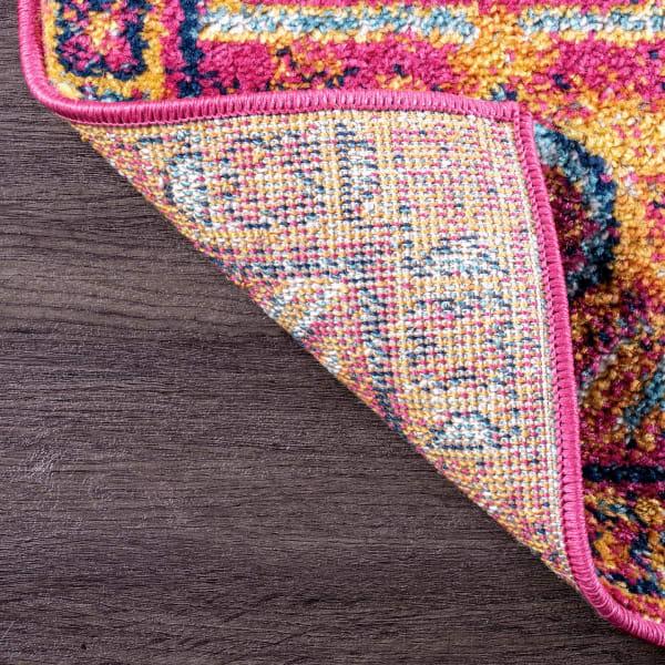 Fancy Persian Vonda 3' x 8' Pink Rug