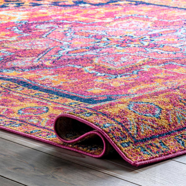 Fancy Persian Vonda 8x10 Pink Rug