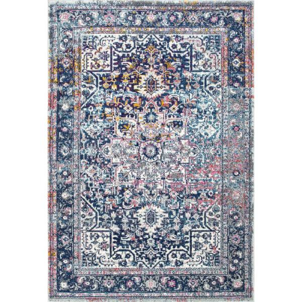 Persian Vintage Raylene 8x10 Blue Rug
