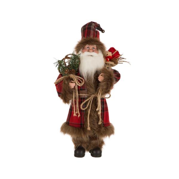Red Plaid Santa