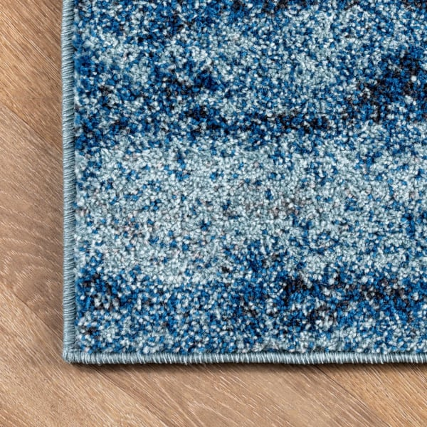 Alayna Abstract 8x10 Blue Rug