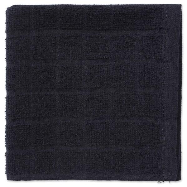 Black Window Pane Dishcloth Set