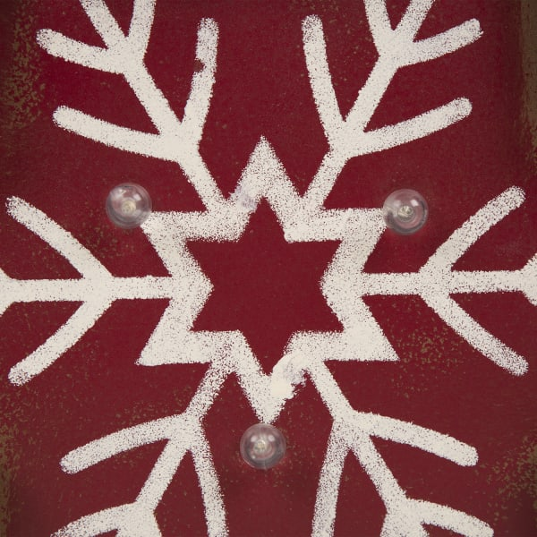 LED Light-Up Snowflake Marquee Decor