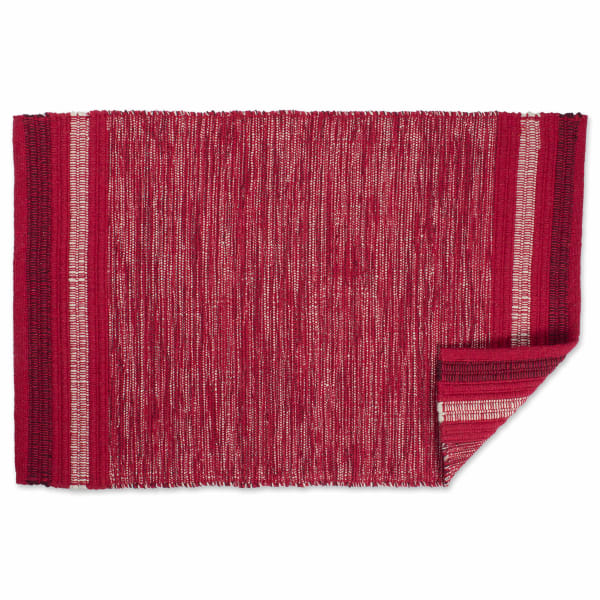 Red Recycled 2'x3' Rug
