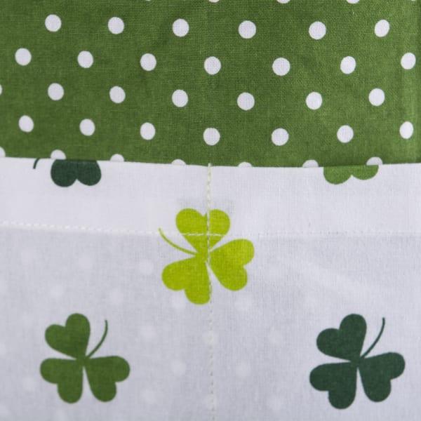 Kiss Me St. Patrick's Day Green Apron