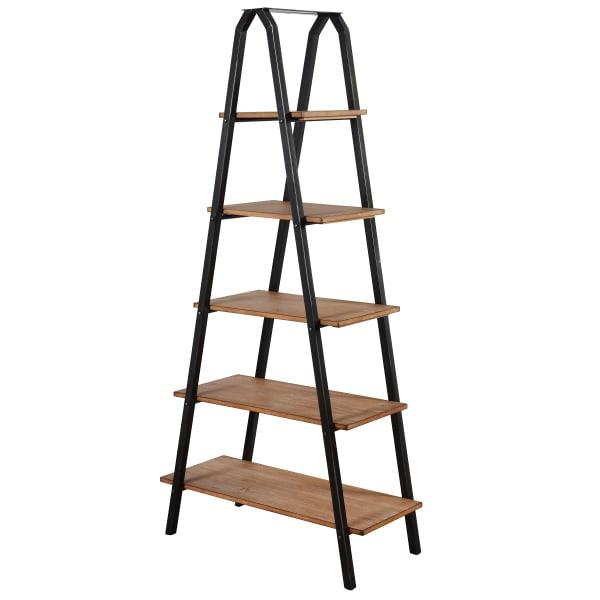 Driftwood Ladder Bookcase