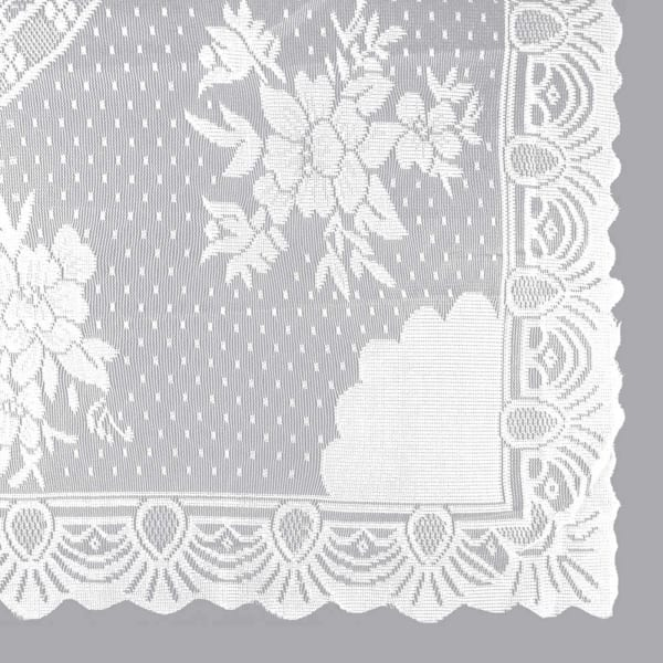 Blooming Floral White Lace 63