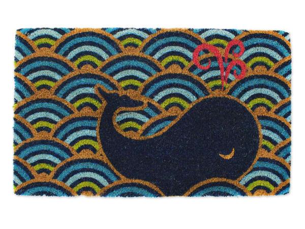 Whale Waves Doormat