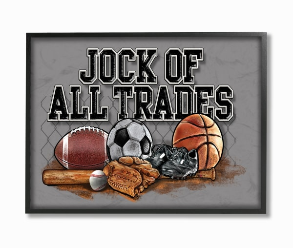Jock of All Trades Framed Giclee Wall Art
