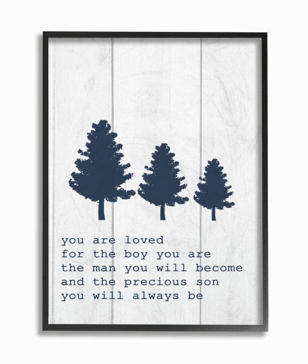 The Man You Will Become Framed Giclee Wall Art