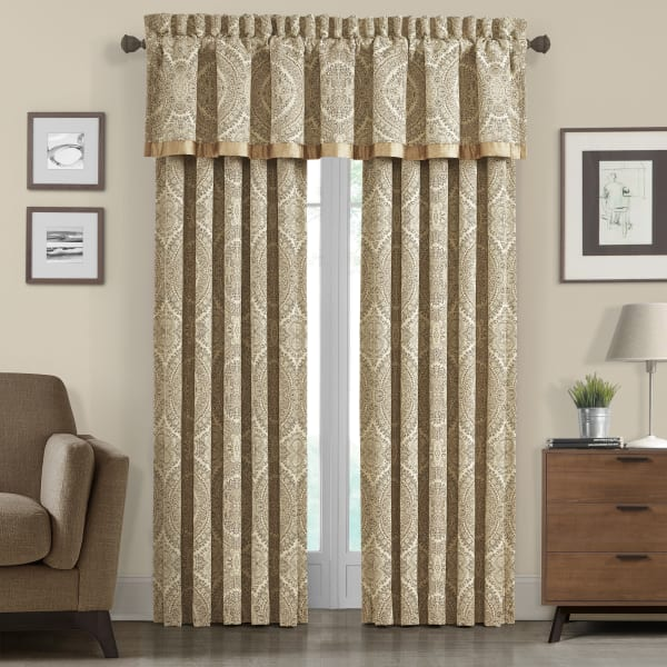Gold Curtain Pair 84