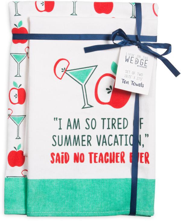 Summer Vacation Tea Towel Set