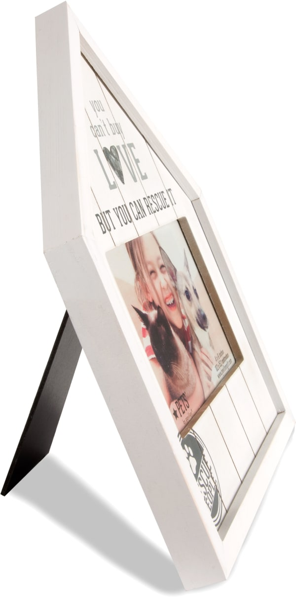 Pets Rescue People 4x6 Photo Frame