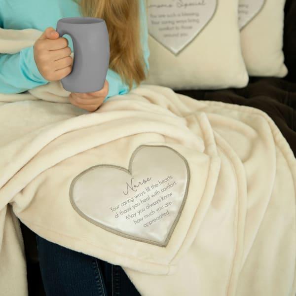 Nurse Plush Blanket