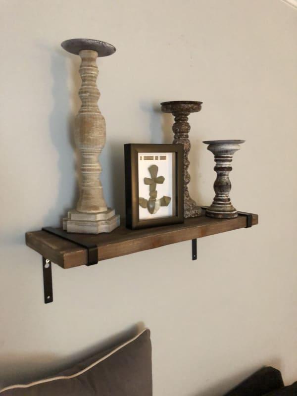 Natural Wooden Shelf
