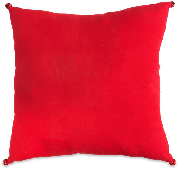 Merry & Bright Red Pillow