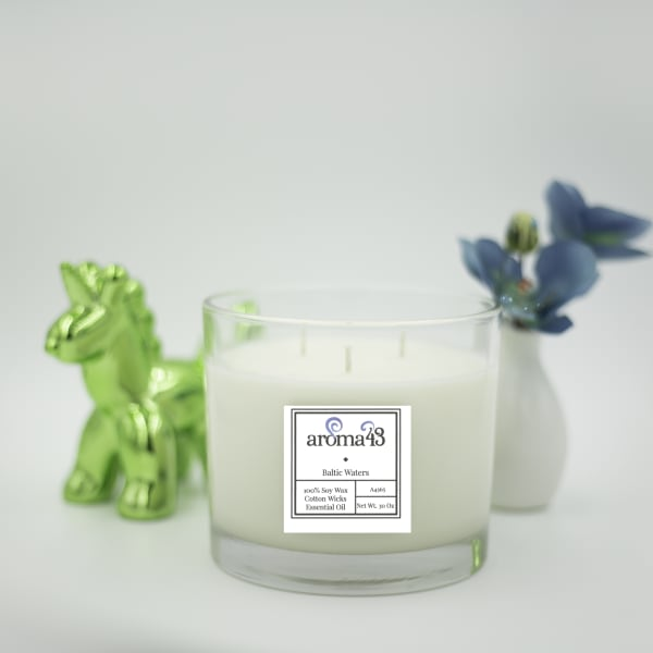 Baltic waters Large 3 Wick Luxury Candle