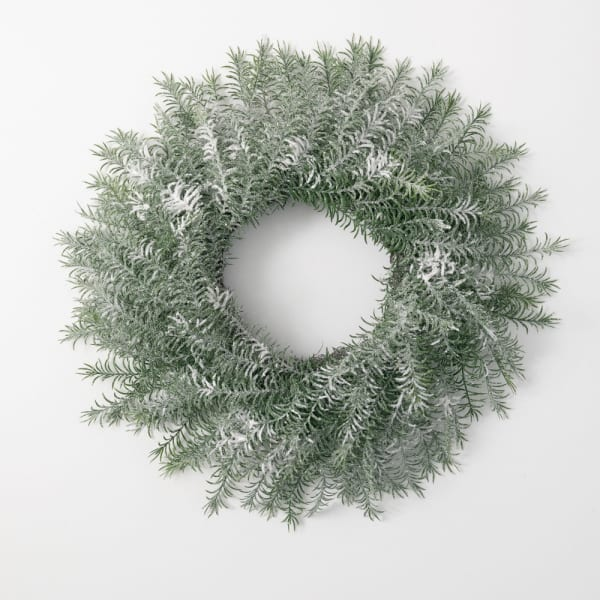 Frosted Pine Wreath