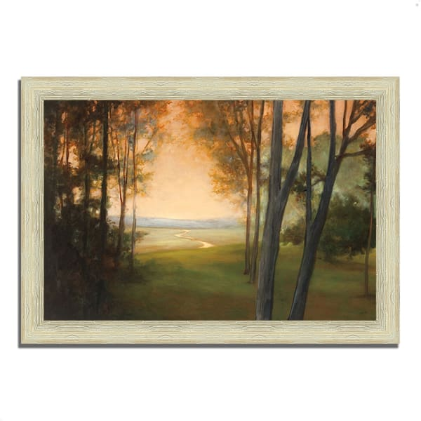 Between the Worlds by Julia Purinton 63 x 44 Framed Painting Print