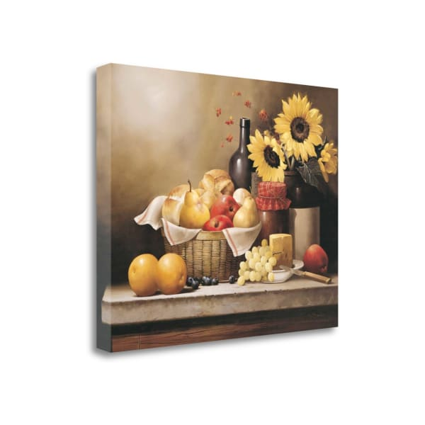 On The Kitchen Table By Victor Santos 23 x 18 Gallery Wrap Canvas