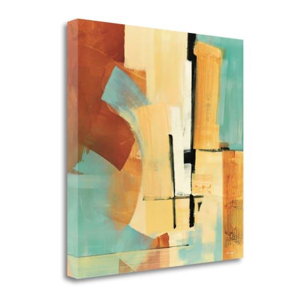 Desert Oasis I By Noah Li-Leger 22 x 22 Gallery Wrap Canvas