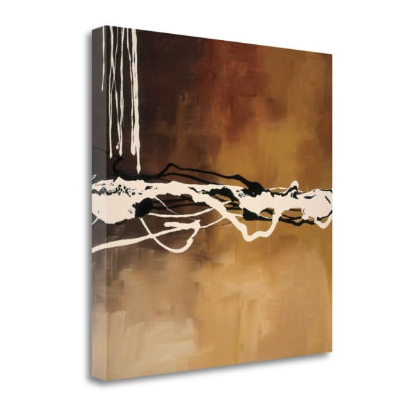 Copper Concerto I By Laurie Maitland 22 x 22 Gallery Wrap Canvas