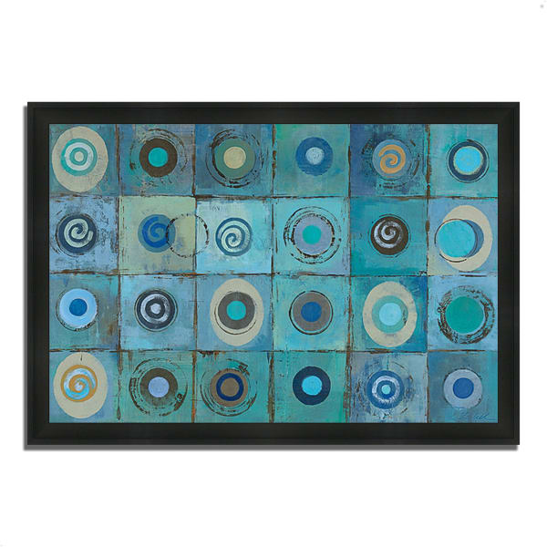 Underwater Mosaic by Silvia Vassileva 46 x 33 Framed Painting Print