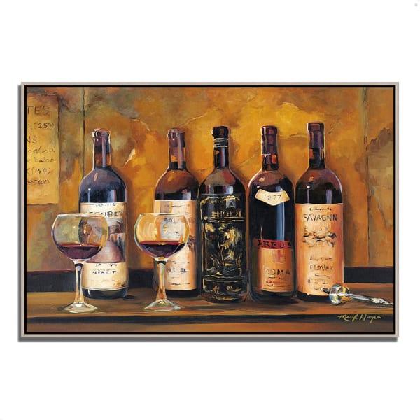 Cellar Reds by Marilyn Hageman 47  x 32 Gallery Wrap Canvas