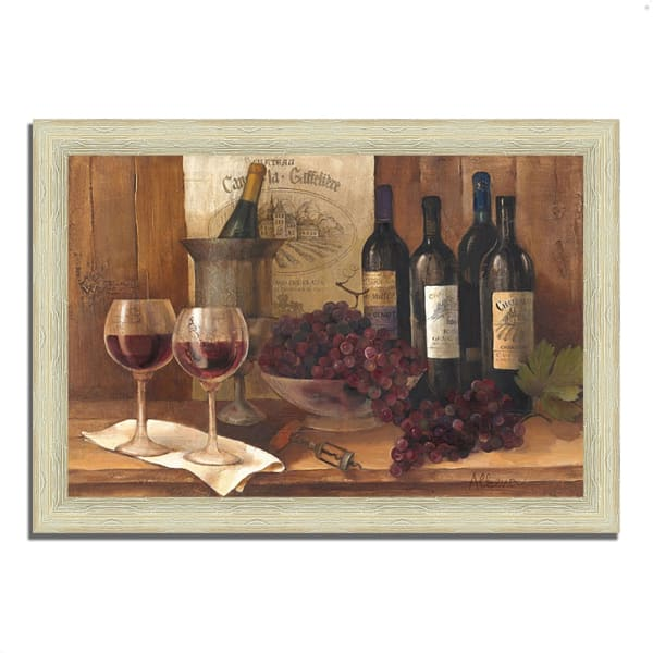 Vintage Wine by Albena Hristova 51 x 36 Framed Painting Prin