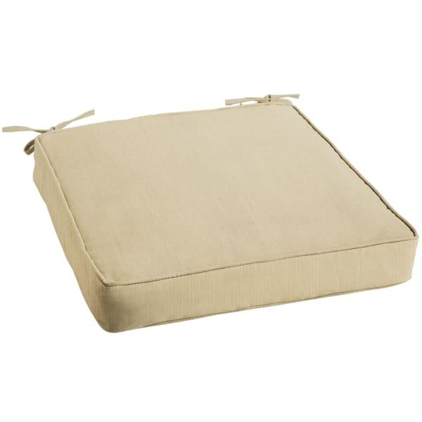 Sunbrella Cushion in Spectrum Sand