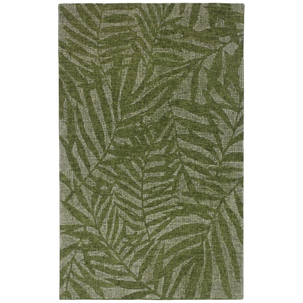 Olive Branches Indoor Rug Green 5'X7'6