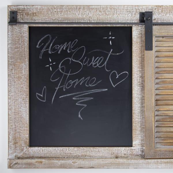 Chalkboard Magnet Message Board