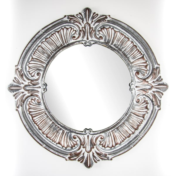 Baroque Metal Wall Vanity Accent Mirror