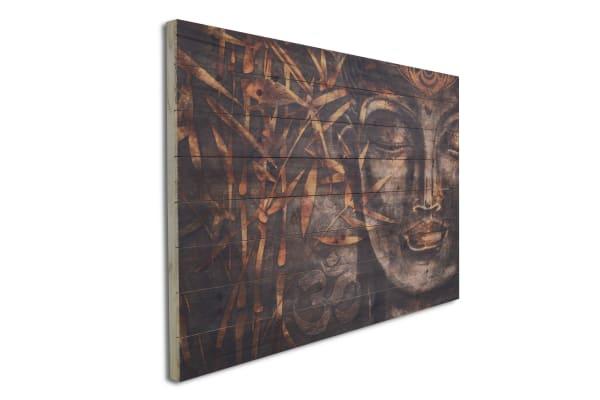 Buddha 24x36 Wood Wall Art