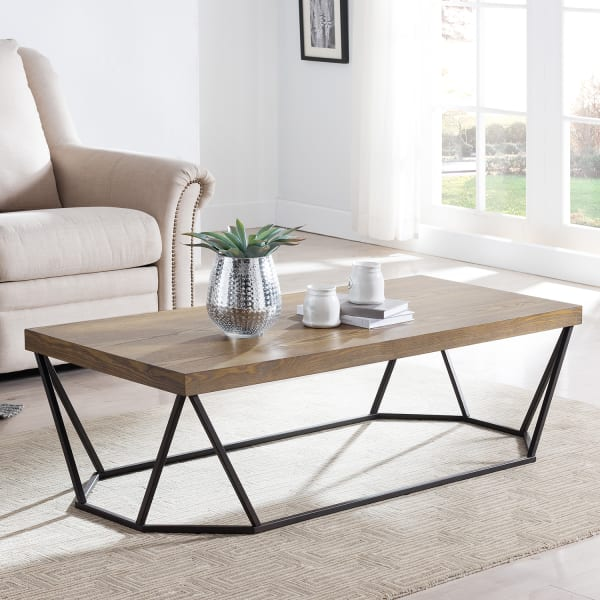 Amber Contemporary Coffee Table