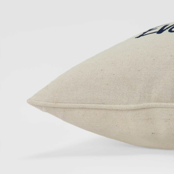 Salt Water Cures Everything Square Pillow