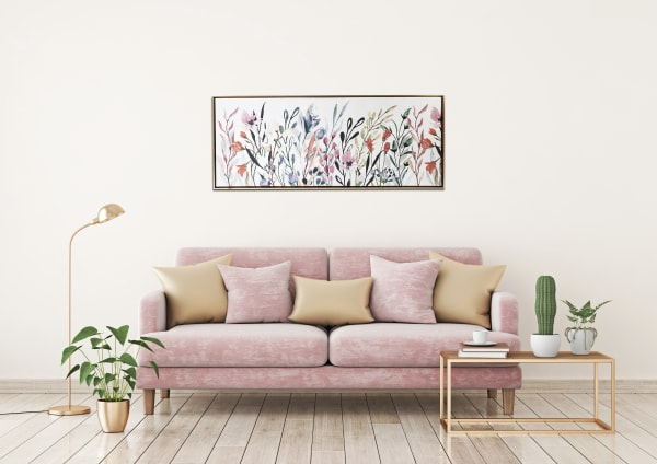 Colorful Wildflowers Canvas Print