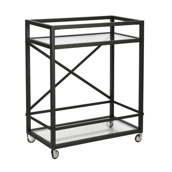 Wilson Blackened Bronze Bar Cart