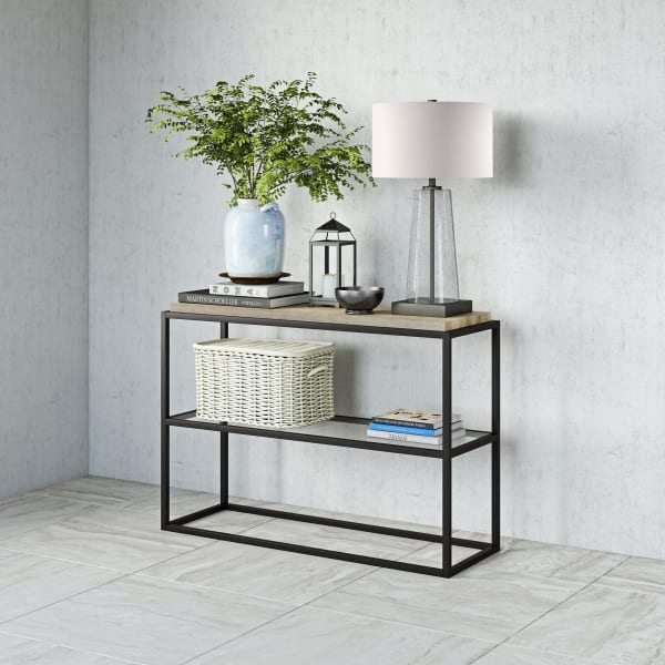 Hector Blackened Bronze Console Table