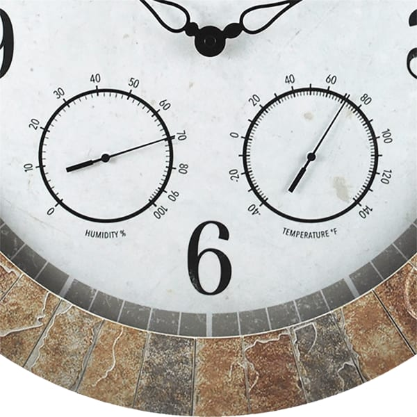 Alexa Sandstone Outdoor Clock
