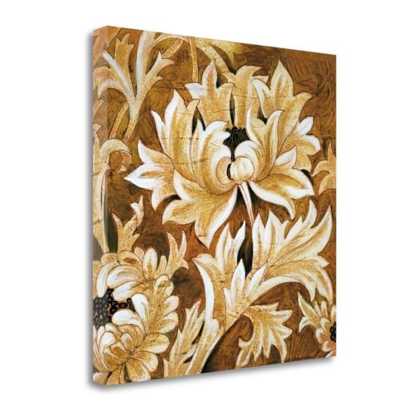 Fine Art Giclee Print on Gallery Wrap Canvas 20 In. x 20 In. Jewel Tones By Liz Jardine Multi Color