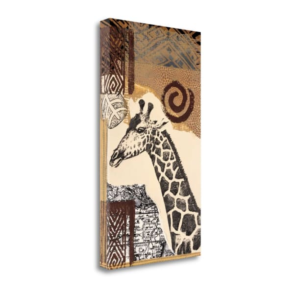 Fine Art Giclee Print on Gallery Wrap Canvas 16 In. x 28 In. Safari III By Bernsen Multi Color