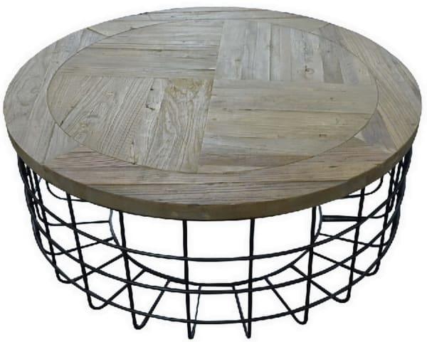Syracuse Round Cocktail Table