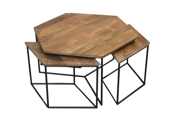 Roseville Occasional Tables - 4 Piece Set