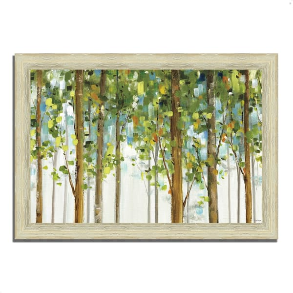 Framed Painting Print 42 In. x 30 In. Forest Study I by Lisa Audit Multi Color
