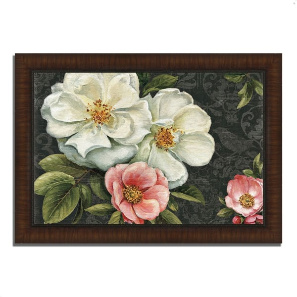 Framed Painting Print 51 In. x 36 In. Floral Damask I  by Lisa Audit Multi Color
