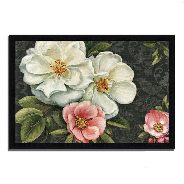 Framed Painting Print 46 In. x 33 In. Floral Damask I  by Lisa Audit Multi Color