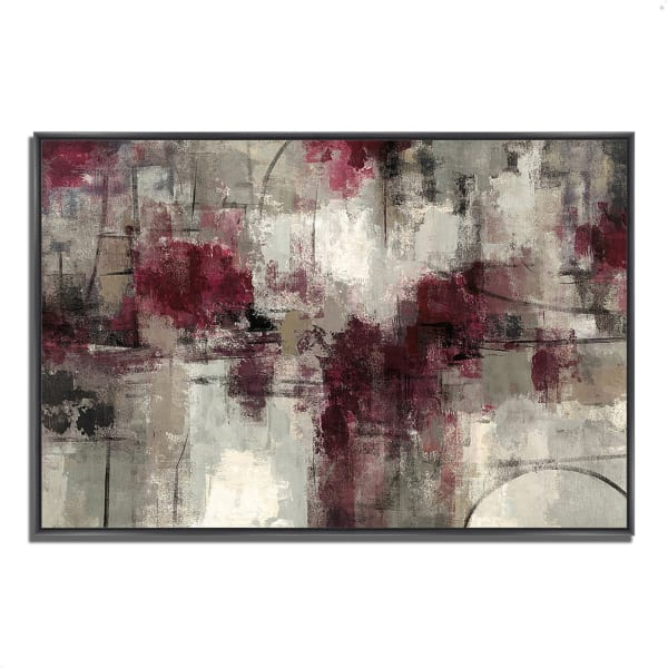 Fine Art Giclee Print on Gallery Wrap Canvas 59 In. x 40 In. Stone Gardens by Silvia Vassileva Multi Color