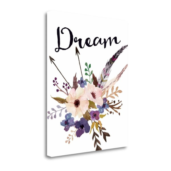 Fine Art Giclee Print on Gallery Wrap Canvas 16 In. x 20 In. Dream By Tara Moss Multi Color