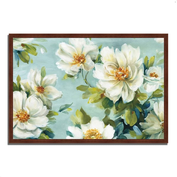 Framed Painting Print 59 In. x 40 In. Reflections I by Lisa Audit Multi Color